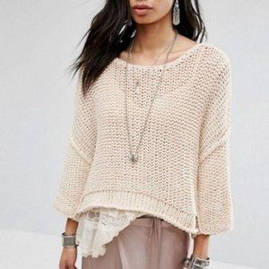 Free People Halo Dolman Sleeve Pullover Sweater